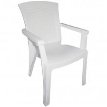 00804 Μόνικα Πλαστική Καρέκλα Τύπου Rattan σε Λευκό Χρώμα+ΔΩΡΟ ΜΥΓΟΚΤΟΝΟ (00055)(ΕΩΣ 6 ΑΤΟΚΕΣ ή 60 ΔΟΣΕΙΣ)