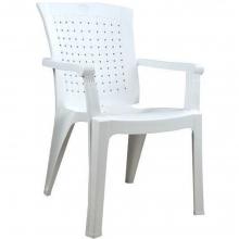 00805 Βαλέρια Πλαστική Καρέκλα Τύπου Rattan σε Λευκό Χρώμα+ΔΩΡΟ ΜΥΓΟΚΤΟΝΟ (00055)(ΕΩΣ 6 ΑΤΟΚΕΣ ή 60 ΔΟΣΕΙΣ)