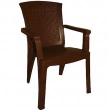 08805 Βαλέρια Πλαστική Καρέκλα Τύπου Rattan σε Καφέ Χρώμα+ΔΩΡΟ ΜΥΓΟΚΤΟΝΟ (00055)(ΕΩΣ 6 ΑΤΟΚΕΣ ή 60 ΔΟΣΕΙΣ)