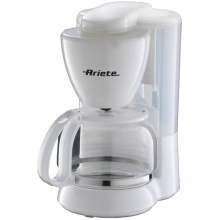 ARIETE 1361 WHITE COFFEE MAKER(ΕΩΣ 6 ΑΤΟΚΕΣ ή 60 ΔΟΣΕΙΣ)