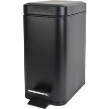 Bormann BTW2030 Inox Καλαθάκι Μπάνιου 5lt Μαύρο    + Δώρο Γάντια Εργασίας(Εως 6 Άτοκες ή 60 Δόσεις)