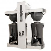 COFFEE QUEEN TOWER ΔΙΠΛΗ ΜΗΧΑΝΗ ΚΑΦΕ ΦΙΛΤΡΟΥ ΜΕ ΘΕΡΜΟΣ+ΔΩΡΟ ΚΑΦΕΤΙΕΡΑ ΓΙΑ MOCCA ΚΑΦΕ NAPOLETANA 2 (ΕΩΣ 6 ΑΤΟΚΕΣ ή 60 ΔΟΣΕΙΣ)