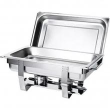 Chafing Dish Inox GN1/1 9lt Ventus VE351 + ΔΩΡΟ ΓΑΝΤΙΑ ΕΡΓΑΣΙΑΣ