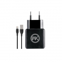Charger WK WP-U11 Combo+I6 Cable 1m Black