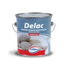 DELAC Βερνίκι πέτρας εμποτισμού διαλυτου VITEX - 2.5ltl + ΔΩΡΟ ΓΑΝΤΙΑ ΕΡΓΑΣΙΑΣ  (ΕΩΣ 6 ΑΤΟΚΕΣ ή 60 ΔΟΣΕΙΣ)