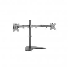 Dual monitor desk stand Logilink BP0045 + ΔΩΡΟ ΓΑΝΤΙΑ ΕΡΓΑΣΙΑΣ (ΕΩΣ 6 ΑΤΟΚΕΣ Η 60 ΔΟΣΕΙΣ)