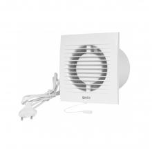 Europlast EE100WP - Εξαεριστήρας μπάνιου με καλώδιο/φις και διακόπτη - κορδονάκι