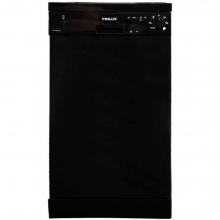 Finlux DFX 4560A BK Πλυντήριο πιάτων μαύρο + Δώρο Γάντια εργασίας (ΕΩΣ 6 ΑΤΟΚΕΣ Η 60 ΔΟΣΕΙΣ)