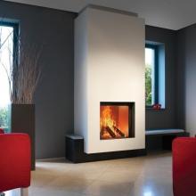 Kal-Fire Heat Pure 71 - 15KW Ενεργειακό τζάκι με δευτερογενή - τριτογεννή καύση 86% απόδοση(ΠΛΗΡΩΜΗ ΕΩΣ 60 ΔΟΣΕΙΣ)