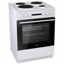 Korting KE6151WM Κουζίνα Εμαγιέ (ΕΩΣ 6 ΑΤΟΚΕΣ ή 60 ΔΟΣΕΙΣ)