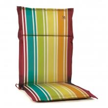 Lianos Μαξιλάρι Καρέκλας με Πλάτη Πολύχρωμο    + Δώρο Γάντια Εργασίας(Εως 6 Άτοκες ή 60 Δόσεις)