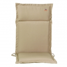 Lianos Μαξιλάρι Καρέκλας με Πλάτη Μπεζ    + Δώρο Γάντια Εργασίας(Εως 6 Άτοκες ή 60 Δόσεις)