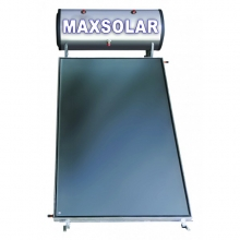 MAXSOLAR  Ηλιακός Θερμοσίφωνας 160 Λίτρα , 2.5 τμ Επιλεκτικός Συλλέκτης + ΔΩΡΟ ΓΑΝΤΙΑ ΝΙΤΡΟ(ΕΩΣ 6 ΑΤΟΚΕΣ ή 60 ΔΟΣΕΙΣ)