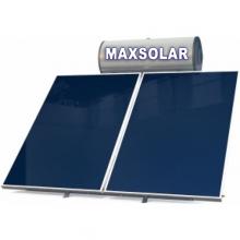 MAXSOLAR Ηλιακός Θερμοσίφωνας 300 Λίτρα , 5,0 τμ Επιλεκτικός Συλλέκτης + ΔΩΡΟ ΓΑΝΤΙΑ ΝΙΤΡΟ(ΠΛΗΡΩΜΗ ΕΩΣ 60 ΔΟΣΕΙΣ)