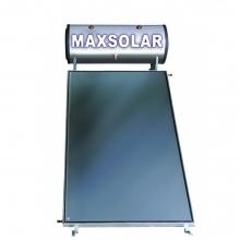 MAXSOLAR Ηλιακός Θερμοσίφωνας 120 Λίτρα , 1.5 τμ Επιλεκτικός Συλλέκτης + ΔΩΡΟ ΓΑΝΤΙΑ ΝΙΤΡΟ(ΕΩΣ 6 ΑΤΟΚΕΣ ή 60 ΔΟΣΕΙΣ)