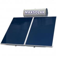 MAXSOLAR Ηλιακός Θερμοσίφωνας 160 Λίτρα , 3,0 τμ Επιλεκτικός Συλλέκτης + ΔΩΡΟ ΓΑΝΤΙΑ ΝΙΤΡΟ(ΕΩΣ 6 ΑΤΟΚΕΣ ή 60 ΔΟΣΕΙΣ)