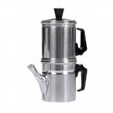 Napoletana 2 Καφετιέρα Αλουμινίου για Παρασκευή mocca Καφέ (ΕΩΣ 6 ΑΤΟΚΕΣ ή 60 ΔΟΣΕΙΣ)