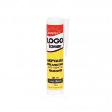 OGO ECONOMY Ακρυλικό Στεγανωτικό ενισχυμένο με Σιλικόνη 280ml Λευκό(ΕΩΣ 6 ΑΤΟΚΕΣ ή 60 ΔΟΣΕΙΣ)