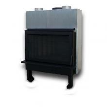 Panthermica Ενεργειακό τζάκι αερόθερμο μιας όψης, PAN81K Ανοιγόμενη Πόρτα (ΕΩΣ 6 ΑΤΟΚΕΣ ή 60 ΔΟΣΕΙΣ)