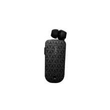 Retractable Bluetooth Headset BT4U Black BTB1 by Ixchange