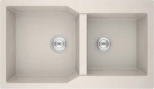 Sanitec 86x50cm Ultra Granite 804 Νεροχύτης Γρανιτένιος + ΔΏΡΟ ΓΆΝΤΙΑ ΝΊΤΡΟ (ΠΛΗΡΩΜΉ ΈΩΣ 60 ΔΌΣΕΙΣ)