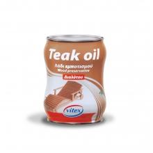 TEAK OIL VITEX - 750ml (ΕΩΣ 6 ΑΤΟΚΕΣ ή 60 ΔΟΣΕΙΣ)