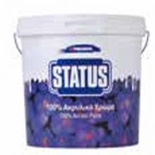 THRAKON STATUS 100% Ακρυλικό χρώμα 750 ml + ΔΩΡΟ ΓΑΝΤΙΑ ΕΡΓΑΣΙΑΣ NITRO (ΕΩΣ 6 ΑΤΟΚΕΣ ή 60 ΔΟΣΕΙΣ)