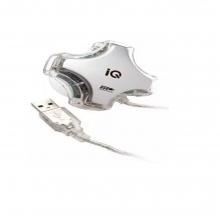 USB Hub IQ USB 111 USB 2.0 3 Θυρών (ΕΩΣ 6 ΑΤΟΚΕΣ Ή 60 ΔΟΣΕΙΣ)