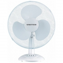 United UDF-671 Λευκός Επιτραπέζιος Ανεμιστήρας+ΔΩΡΟ ΓΑΝΤΙΑ ΕΡΓΑΣΙΑΣ NITRO(ΕΩΣ 6 ΑΤΟΚΕΣ ή 60 ΔΟΣΕΙΣ)
