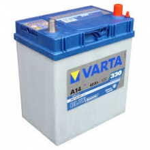 Varta Blue Dynamic A14 40AH-330EN ΜΠΑΤΑΡΙΑ ΑΥΤΟΚΙΝΗΤΟΥ + ΔΩΡΟ ΓΑΝΤΙΑ ΕΡΓΑΣΙΑΣ (ΕΩΣ 6 ΑΤΟΚΕΣ ή 60 ΔΟΣΕΙΣ)