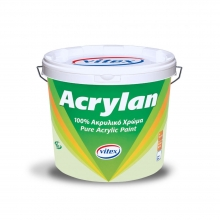 Vitex Acrylan 3lt + ΔΩΡΟ ΓΑΝΤΙΑ ΕΡΓΑΣΙΑΣ  (ΕΩΣ 6 ΑΤΟΚΕΣ ή 60 ΔΟΣΕΙΣ)
