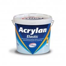 Vitex Acrylan Elastic 3lt + ΔΩΡΟ ΓΑΝΤΙΑ ΕΡΓΑΣΙΑΣ  (ΕΩΣ 6 ΑΤΟΚΕΣ ή 60 ΔΟΣΕΙΣ)