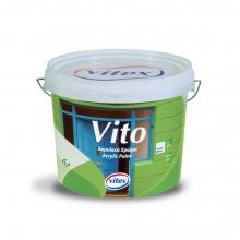 Vitex Vito Ακρυλικό 3lt + ΔΩΡΟ ΓΑΝΤΙΑ ΕΡΓΑΣΙΑΣ  (ΕΩΣ 6 ΑΤΟΚΕΣ ή 60 ΔΟΣΕΙΣ)