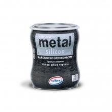Vitex Βερνικόχρωμα Heavy Metal Silicon Satin 750ml (ΕΩΣ 6 ΑΤΟΚΕΣ ή 60 ΔΟΣΕΙΣ)