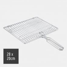 Σχάρα Inox για Ψηστιέρα 800w Ορθογώνια (ΕΩΣ 6 ΑΤΟΚΕΣ ή 60 ΔΟΣΕΙΣ)