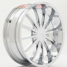 Ζάντες NISSAN NAVARA 20x8,5 Player Alloy Wheels 147 Chrome HPO -20 offset