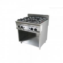 Κουζίνα 4 εστιες αερίου επιδαπέδια 700 STOVE TOP VIMITEX 752 ST (ΕΩΣ 6 ΑΤΟΚΕΣ ή 60 ΔΟΣΕΙΣ)