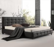 Κρεβάτι FIDEL Ε8053 160x200cm PU Μαύρο (ΕΩΣ 6 ΑΤΟΚΕΣ ή 60 ΔΟΣΕΙΣ)