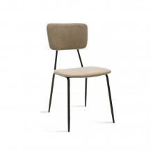 Καρέκλα Tania pakoworld μαύρο-ύφασμα    + Δώρο Γάντια Εργασίας(Εως 6 Άτοκες ή 60 Δόσεις)