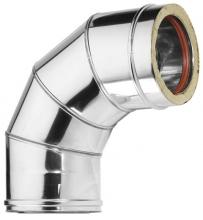 ΚΑΜΠΥΛΗ ΔΙΠΛΟΥ ΤΟΙΧΩΜΑΤΟΣ 90° 60Kg/m3 , πάχους 0,40mm ή 0,50mm.