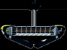 Θερμαντικό Σώμα με λάμπες υπερύθρων Οροφής Moel 769S Girosole 661015 + ΔΩΡΟ ΓΑΝΤΙΑ ΠΡΟΣΤΑΣΙΑΣ BELLOTTA 72177,ΠΡΙΟΝΙ ΚΛΑΔΟΥ TOPEX