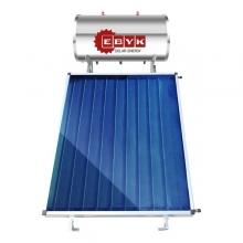 Ηλιακός Θερμοσίφωνας ΕΒΥΚ 160lt/2.5m² Glass επιλεκτικού συλλέκτη + ΔΩΡΟ ΓΑΝΤΙΑ ΠΡΟΣΤΑΣΙΑΣ,ΠΡΙΟΝΙ ΚΛΑΔΟΥ,ΣΟΥΓΙΑΣ (ΕΩΣ 6 ΑΤΟΚΕΣ ή 60 ΔΟΣΕΙΣ)