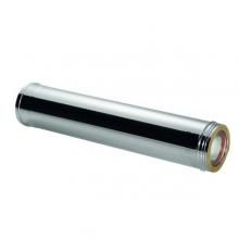 Καπνοδόχος Inox (ΜΠΟΥΡΙ) Ευθύγραμμη Διπλού ATRITUBE CH-304-CE Φ150/200 (0,5m) - 0,40mm-80KG (ΕΩΣ 6 ΑΤΟΚΕΣ ή 60 ΔΟΣΕΙΣ)