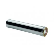 Καπνοδόχος Inox (ΜΠΟΥΡΙ) Ευθύγραμμη Διπλού ATRITUBE CH-304-CE Φ250/300 (0,25m) - 0,40mm-80KG (ΕΩΣ 6 ΑΤΟΚΕΣ ή 60 ΔΟΣΕΙΣ)