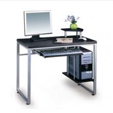 Γραφείο ΕΟ407 Η/Υ 85x55x76cm Μεταλλικό Silver-MDF (ΕΩΣ 6 ΑΤΟΚΕΣ ή 60 ΔΟΣΕΙΣ)