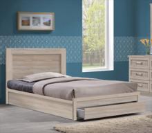 Κρεβάτι-Συρτάρι ΕΜ3631,2 LIFE 100x200 απόχρωση Σημύδας (ΕΩΣ 6 ΑΤΟΚΕΣ ή 60 ΔΟΣΕΙΣ)