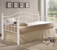 Κρεβάτι Μονό Ε8072,1 VINCENT 90x190cm Μεταλ.Άσπρο - Ξύλο Άσπρο (ΠΛΗΡΩΜΗ ΕΩΣ 60 ΔΟΣΕΙΣ)