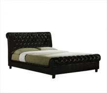 Κρεβάτι Ε8052 HARMONY 160x200cm PU Σκ.Καφέ (ΕΩΣ 6 ΑΤΟΚΕΣ ή 60 ΔΟΣΕΙΣ)