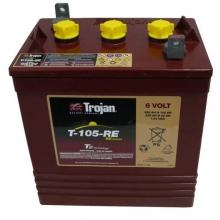 Μπαταρία βαθιάς εκφόρτισης TROJAN, T-105-RE ,6 VOLT+ ΔΩΡΟ ΓΑΝΤΙΑ ΕΡΓΑΣΙΑΣ NITRO (ΕΩΣ 6 ΑΤΟΚΕΣ ή 60 ΔΟΣΕΙΣ)