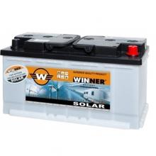 Μπαταρία βαθιάς εκφόρτισης Winner Solar W100 - 12V+ ΔΩΡΟ ΓΑΝΤΙΑ ΕΡΓΑΣΙΑΣ NITRO (ΕΩΣ 6 ΑΤΟΚΕΣ ή 60 ΔΟΣΕΙΣ)